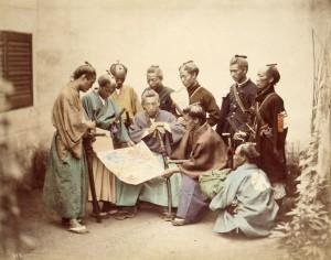samurai de la Periode Edo